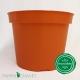 Pot de Fleurs Horticole 3 litres - coloris ORANGE POTIRON