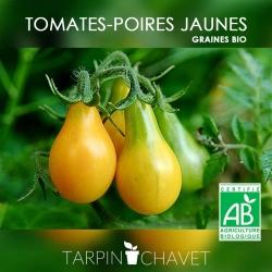 Graines de Tomates-Poires Jaunes BIO