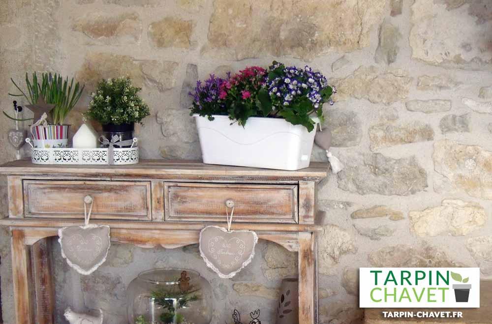 jardinière Fyora en plastique Tarpin-chavet.fr