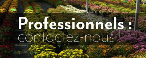 bannière contact professionnels horticulture