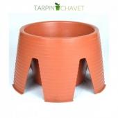 Découvrez notre Stablovent ! Il s'agit d'un stabilisateur de pot de fleurs pour terrasses et balcons • Avec réserve d'eau incorporée ! Par ici : https://tarpin-chavet.fr/accessoires/141-stablovent-stabilisateur-de-pot.html . #jardin #junglehome #jardinage #decojardin #potdefleurs