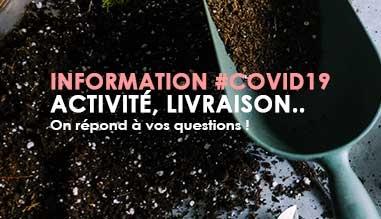 Information Activité #Covid19